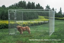 China Cheap Large Chain Link Rolling Hot Sale Dog House China Dog Kennel Panel Kennel Crate