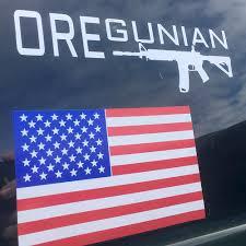 Oregunian Ar 15 Rifle Decal Or2a Swag Shop