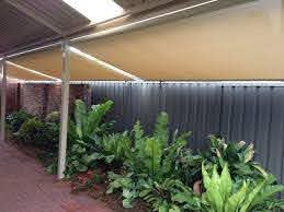 Roof To Fence Blinds Modern Shade Solutions