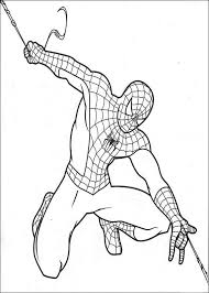 Spiderman Kleurplaten Printen 8