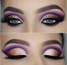 makeup for blue eyes and dark hair