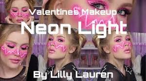 valentines day rave makeup videos