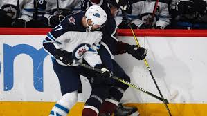 Adam Lowry had a NSFW response to the Jets' 7-1 loss against Colorado -  Article - Bardown