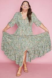 Adeline Green Paisley Maxi Dress – Little Party Dress