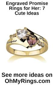 promise rings for her 7 cute ideas