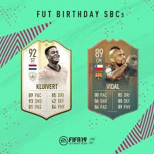 Fifa 19 Fut Birthday Equipo Jugadores De Aniversario Y Sbc Dexerto