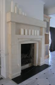 tudor arch with recessed overmantle