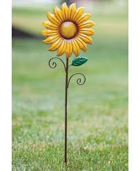 metal sunflower decorative garden