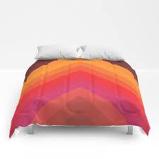 70s chevron comforters by bitart society6