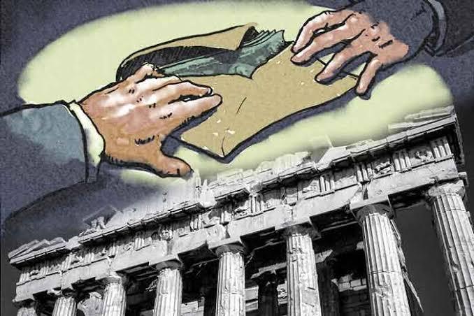 """Hasil gambar untuk demokrasi biang korupsi"""""""