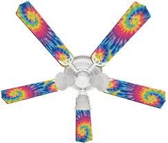 Psychedelic Tye Dye Funky Tie Ceiling Fan 52 Ceiling Fans Kids Room Decor