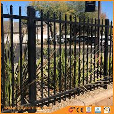 China Metal Aluminum Black Satin Fence Panels With High Quality China Garden Fence And Fencing Price