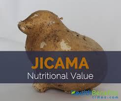 jicama nutritional value and dv