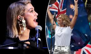Delta Goodrem represents Australia for ...