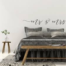 Over Bed Wall Decor Above Bed Wall Decal Quote Bedroom Wall Etsy