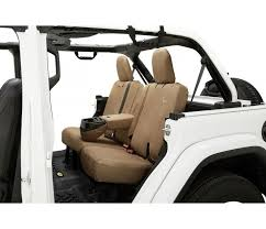 tan rear seat cover bestop