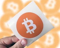 Bitcoin Sticker Etsy