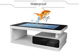 tft commercial multi touch screen table