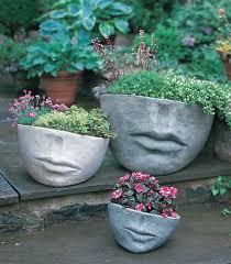 making concrete hand planters easy