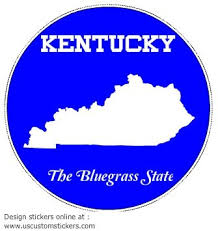 Kentucky Car Decal U S Custom Stickers