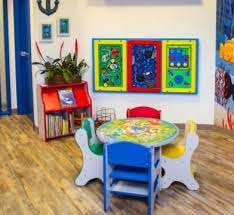 You Must Have Wall Toys In Your Waiting Room Along With Being A Great Space Saver They Are S Pediatric Waiting Room Ideas Waiting Room Design Kids Furniture