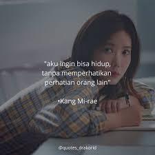 ▷ fyi drakorid quotes drakor🎬 kang mirae❤🍂 drama my id