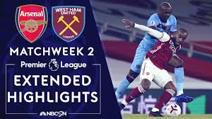 Arsenal v. West Ham | PREMIER LEAGUE HIGHLIGHTS | 9/19/2020