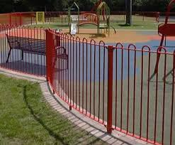 Playground Fence Rejas