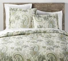 charlie paisley organic patterned duvet