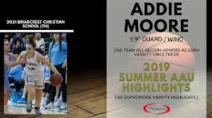 2021 - Addie Moore - College Promoters USA