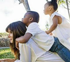 Sandra Bullock with her children😍... - Love Sees No Color | Facebook