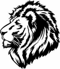 Lion Head Profile Wild Animal Jungle Wall Car Window Truck Vinyl Sticker Decal Ebay