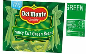 del monte canned bbq baked beans 112