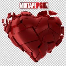 hd red broken heart mixtapepsds