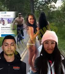 Justin Riaz Williams spits Jessica Lau   by Braeden Riehl - BingiNews