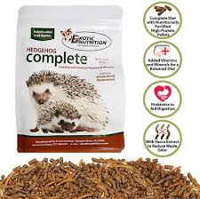 feeding hedgehogs exotic nutrition