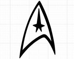 Star Trek Car Decal Etsy