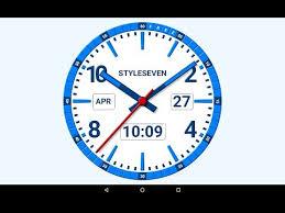 kit og clock live wallpaper 7