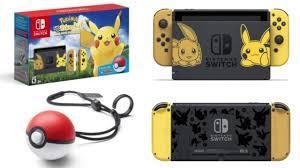 Nintendo Switch Pokemon: Let's Go, Pikachu Bundle is Back in Stock