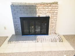 paint your brick fireplace in 2 easy