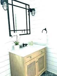 bathroom mirror dark brushed bronze