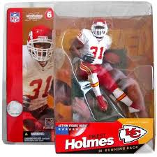 McFarlane Toys NFL Kansas City Chiefs Sports Picks Series 6 Priest Holmes  Action Figure [White Jersey] : Target