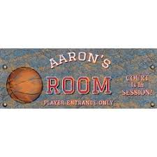 Kids Room Sign Basketball For Room Signs