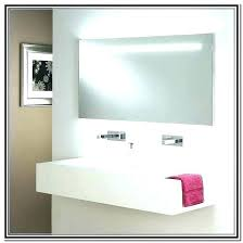 bathroom mirror light frame kit ideas