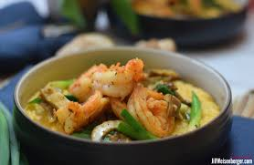 Healthy Shrimp and Grits: quick and easy