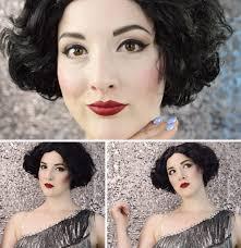 1920 s flapper makeup tutorial