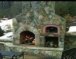 fireplace pizza oven combo pizza