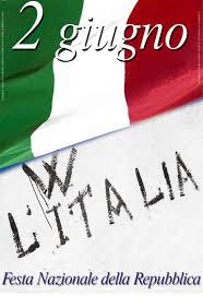 Buona Festa della Repubblica a tutti. Viva l'Italia!