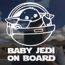 Other Baby Yoda Car Decal Poshmark