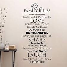 com ditooms family quotes wall decal our family house